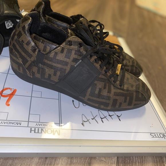 fendi monogram sneakers